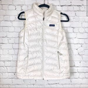 Patagonia | White Puffer Vest